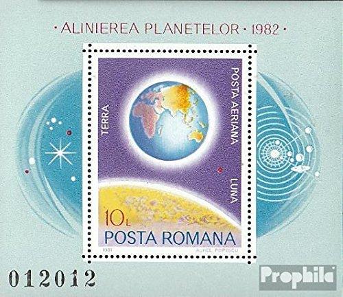 Rumänien Block181 (kompl.Ausg.) 1981 Planetenkonstellation (Briefmarken für Sammler) Weltraum