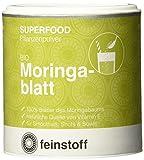 Feinstoff Moringablatt Pulver bio, 1er Pack (1 x 75 g)