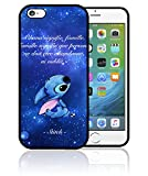 Fifrelin Coque Etui Housse Bumper Apple iPhone Lilo Stitch Ohana Signifie Famille...