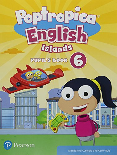 Poptropica English Islands Level 6 Pupil's Book and Online World Access por Magdalena Custodio