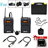 Boya by-WM6 UHF Microphone System for DSLR Camera Camcorder