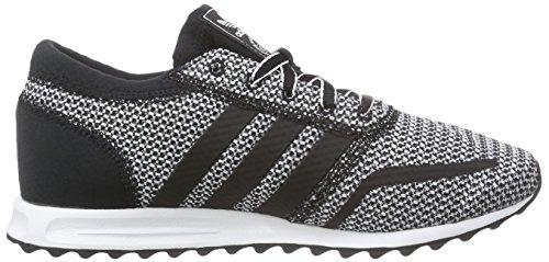 adidas Los Angeles, Baskets Basses Femme Noir (Core Black/Core Black/Ftwr White)