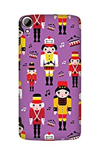 ZAPCASE PRINTED BACK COVER FOR HTC DESIRE 828 - Multicolor