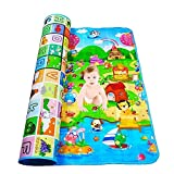 YOZO Playmat Waterproof, Anti Skid, Double Sided Baby Crawling Mat Waterproof Double Side