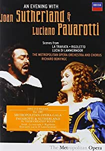 Pavarotti And Sutherland: An Evening With [DVD] [2008]