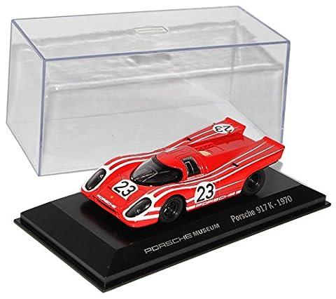 Porsche 917 K 1970 Rot Le Mans 1/43 Welly Modell Auto