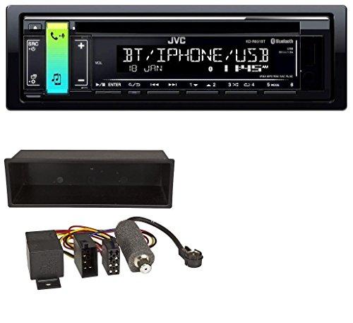 JVC KD-R891BT Bluetooth MP3 AUX USB CD Autoradio für VW Polo T4 Passat Golf (98-04) (I Pod 5 Transporter)