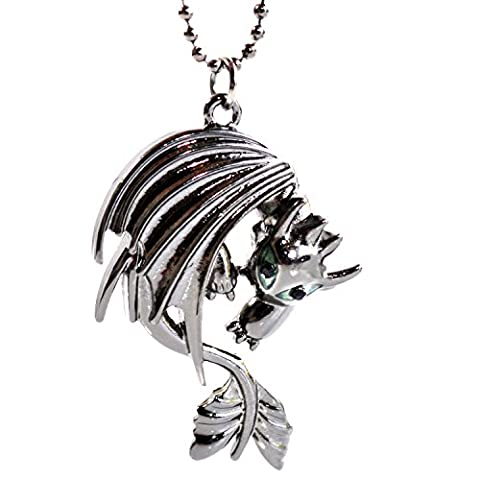 How to Train Your Dragon Necklace - Toothless Night Fury Pendant