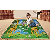 #8: Water Proof Baby Mat Carpet Baby Crawl Play Mat Kids Infant Crawling Play Mat Carpet Baby Gym Water Resistant (90x120cm)