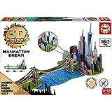Educa Borrás - Puente de Brooklyn, puzzle 3D (17000)
