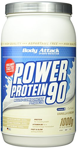 Vanilla Creme Cookies (Body Attack Power Protein 90, Vanille, 1kg Dose)
