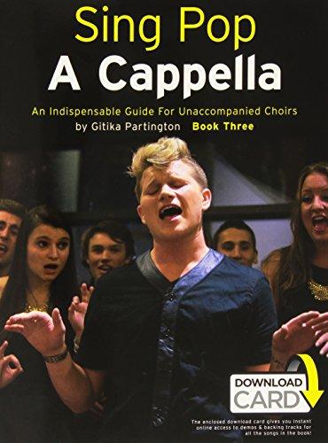Sing Pop a Cappella - Book Three (Book/Audio Download) Chant