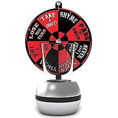 Idea Regalo - Barbuzzo spin-the-shot Gira la ruota degli shot Red/Black
