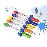 NY80Lmh Wasser Flöte Spielzeug Kinder Kinder Bunte Badewanne Melodien Musik Sounds Geschenk