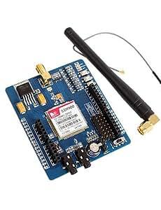 Quad-band GSM / GPRS SIM900 Modulo scheda di sviluppo GBoard Apprendimento integrato per scheda Arduino
