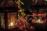 Orientalische Laterne Windlicht Balkon Garten Deko Lampe Marokko Orient Dekoration Weihnachtsdeko Adventsdeko (Einzeln - Design 2) - 4