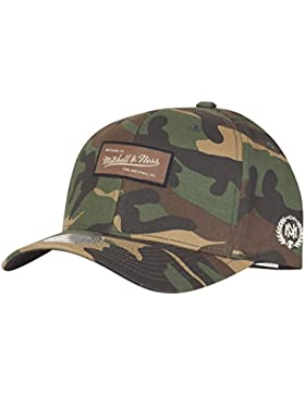 Mitchell & Ness - Gorra de béisbol - para hombre verde Wood Camo Talla única