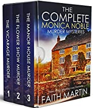 THE COMPLETE MONICA NOBLE MURDER MYSTERIES three utterly gripping cozy mysteries box set (Cozy crime and suspe