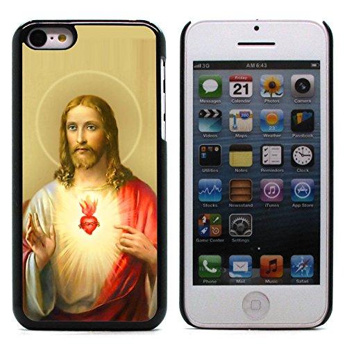 Graphic4You I Love Jesus Design Harte Hülle Case Tasche Schutzhülle für Apple iPhone 5C Design #3
