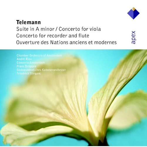 Telemann : Suite for Recorder & Strings in A minor TWV55, a2 : IV Menuet 1 alternativement & Menuet 2