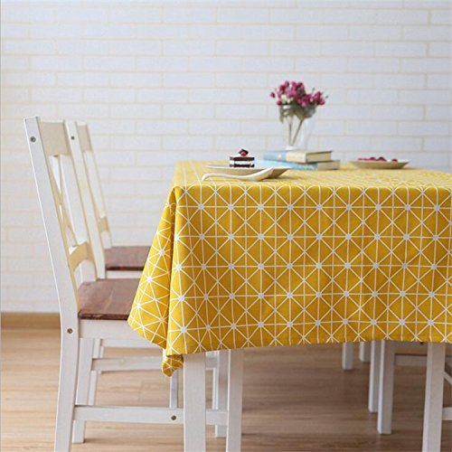 Meiwash manteles manteles lino limpiar mantel estilo