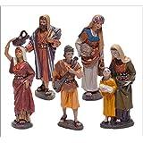 Belén Delprado J.L.Mayo- Set de 5 Pastores del Camino -Serie 11 cms - BEL908