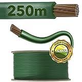 250m SHS Begrenzungskabel für Mähroboter Zubehör SET Begrenzungsdraht für Suchkabel/GARDENA / BOSCH/HUSQVARNA / WORX/HONDA / ROBOMOW/iMow