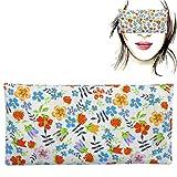"""Cuscino per occhi""""Floret"""", semi di lavanda e riso, Yoga, Meditazione, rilassamento, riposo oculare"""
