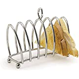 Kitchen Craft Chrome Plated Six Slice Toast Rack