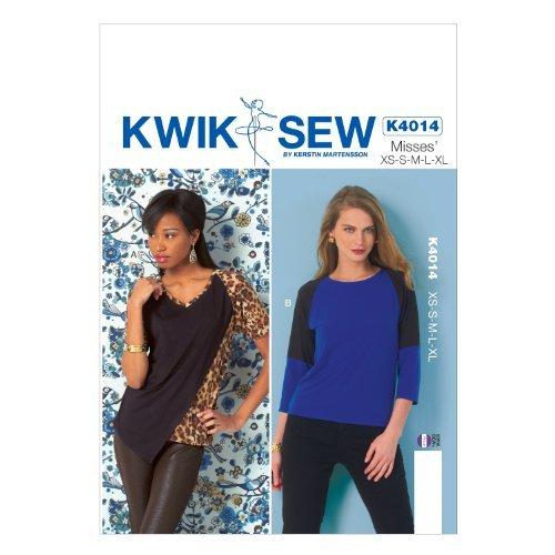 KWIK-SEW PATTERNS K4014 Misses