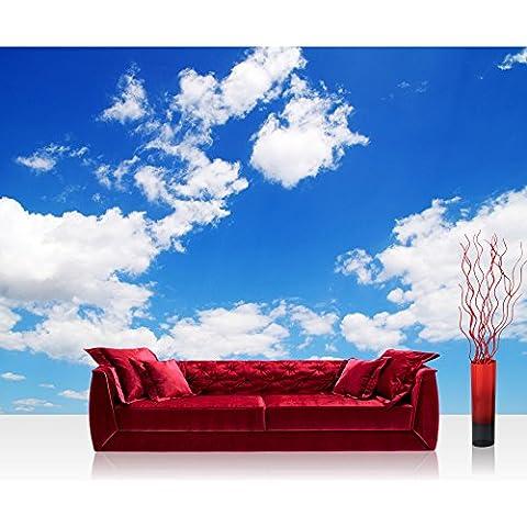 Bolsas de papel de cielo y nubes azules - no, 154 papel pintado de papel pintado de papel pintado cuadro de imagen de la foto de pared de piedra con aspecto de piedras en la pared de muro de