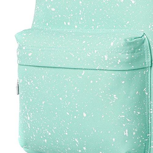 Hype Rucksack Tasche - Verscheidene Farben Mint/Weiß