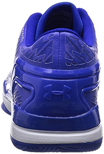 Under Armour Clutchfit Drive Low bleu, chaussures de basketball homme Bleu