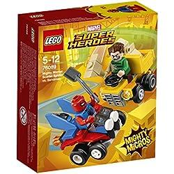 Lego Super Heroes 76089 - Uomo Sabbia Mighty Micros: Scarlet Spider