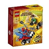 LEGO UK - 76089 Marvel Super Heroes Mighty Micros: Scarlet Spider versus Sandman Cool Superhero Toy for Kids