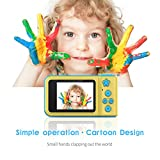 Kids Digital Camera Dkings Holiday Family Friends Kids School Students Toys Gift (Blue)