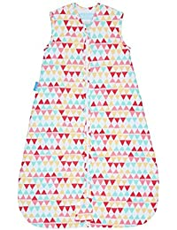 The Gro Company Rouge Zig Zag Travel Grobag Baby Sleeping Bag, 18-36 Months, 1.0 Tog