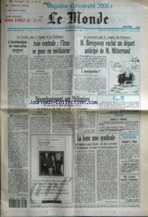 MONDE (LE) [No 14707] du 12/05/1992 - L&...