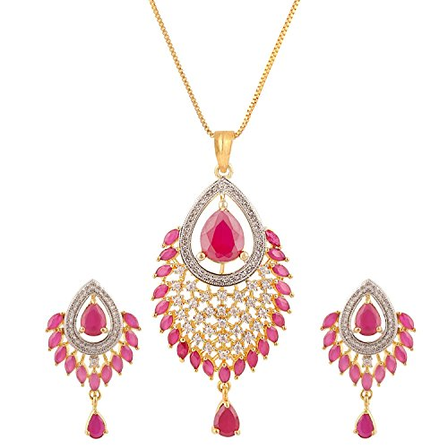 swasti-jewels-american-paon-diamant-cz-boucles-doreilles-zircon-pendentif-fashion-jewelry-set-rouge-