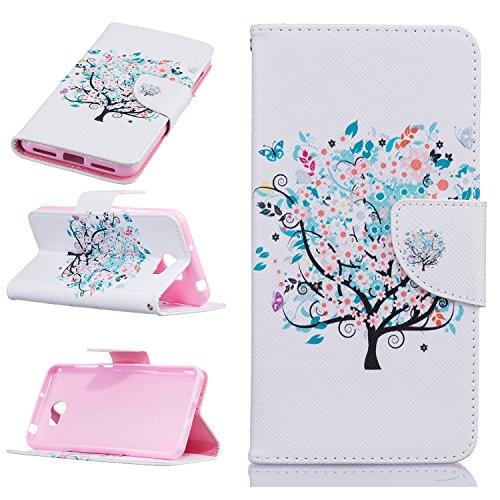 Huawei mobile phone skin protector accessories-Hülle aus Leder für Huawei Mate 8/Huawei Y3 ii/Y5 ii/Honor 5A/Y6 ii Telefone & Handys Zubehör (Huawei Y5 II, Fun Tree) Mobile Skin