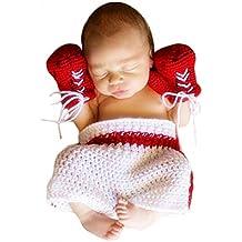 Ateid Disfraz Atrezzo de Fotografía Traje Para Bebé Recién, 0-12 Meses, Boxeo