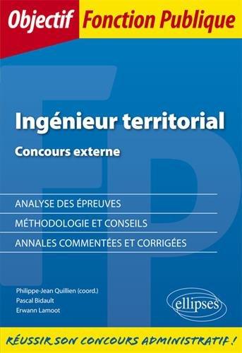 Ingénieur territorial - Concours externe