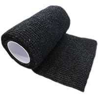 Haftbandagen Easy Flex 12 Rollen schwarz 5 cm x 4,5 m selbsthaftende flexible Bandagen Profi-Qualität preisvergleich bei billige-tabletten.eu