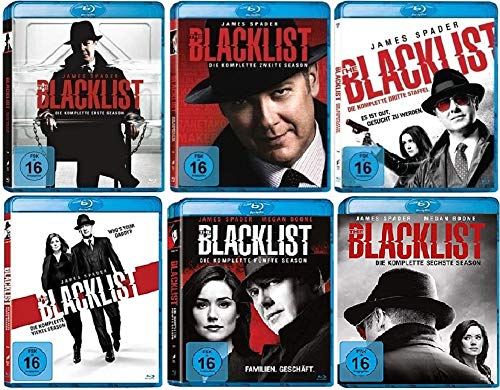 The Blacklist Staffel 1-6 (1+2+3+4+5+6, 1 bis 6) [Blu-ray Set]