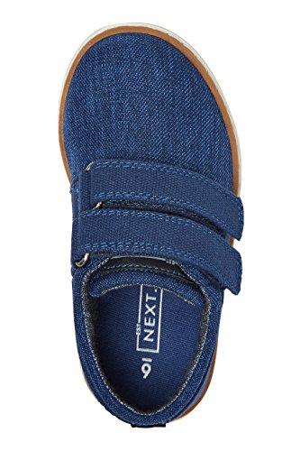 next Chaussures Habillées À Double Bride (Maternelle Garçon) Coupe Standard Bleu