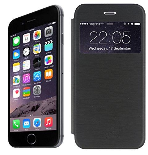 crocor-iphone-6-47-ultra-slim-lightweight-semi-transparent-grip-hold-flip-case-cover-brushed-wire-fi