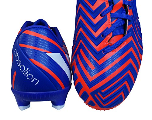 adidas Predator Absolion Instinct Firm Ground, Chaussures de Football Compétition Homme Solred/Ftwwht/Ngtfla