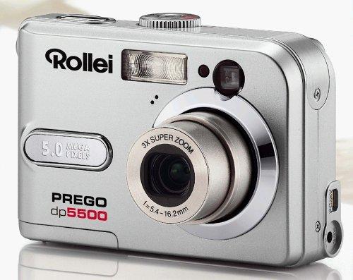 Rollei Prego dp 5500 Digitalkamera 5.0 (2560 x 1920) 16 MB Silber -