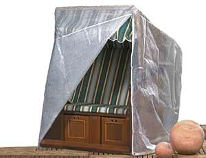 Sienagard4 542286 Housse pour Chaise de Plage Tissu/Polyester/Transparent