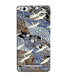 FUSON Designer Back Case Cover for Xiaomi Redmi 4A (Herns art design Birds design Modern art design Nice design Classic Birds design)